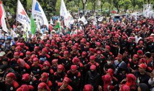 Partai buruh wadah politik bagi para buruh menyalurkan aspirasi politiknya